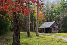 Great Smoky Mountains National Park   ~  Carter Shields Cabin in Cades Cove
