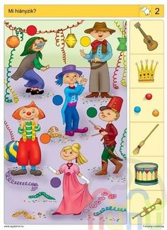 visuele discriminatie voor kleuters / preschool visual discrimination Brain Activities, Holiday Activities, Infant Activities, Educational Activities, Music For Kids, Math For Kids, Preschool Worksheets, Preschool Activities, File Folder Activities