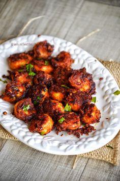 Crisp Prawn Fry – Savory&SweetFood Prawns Roast, Prawns Fry, Spicy Prawns, Prawn Recipes, Chef Recipes, Vegetarian Recipes, Chicken Recipes, Keto Recipes, Indian Food Recipes