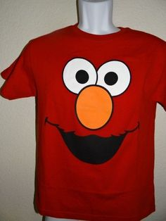 BOY'S SESAME STREET  RED T-SHIRT NWOT SIZE XL(14/16) #SesameStreet #Everyday