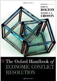 Individuals, groups, and societies all experience conflict, and attempt to resolve it in numerous ways. This handbook brings together scholars from multiple disciplines to offer perspectives on the current state and future challenges in negotiation and conflict resolution.  Cote: 9-4823 BOL