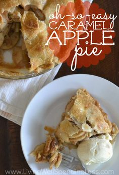 Love apple pie but not all the effort You won't believe how quick and easy it is to whip up this amazingly delicious, almost-from-scratch, caramel-infused version!  Plus discover the secret weapon that every apple pie baker can't live without!