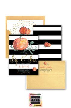 Pumpkin Baby Shower Invitation // Little Pumpkin // Pumpkin // Pumpkin… Baby In Pumpkin, Little Pumpkin, Pumpkin Pumpkin, Sip And See Invitations, Baby Shower Invitations, Watercolor Invitations, Invitation Design, Palm Beach