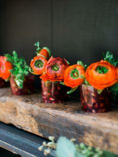 Petits bouquets originaux