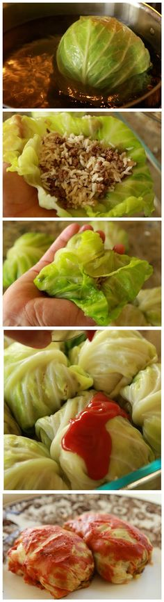 Delicious Cabbage Rolls - Truelifekitchen...... With the last cabbage from the garden.