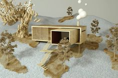 Superb Digital Models of Scandinavian Summer Homes