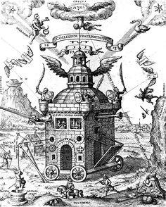 """The Temple of the Rosy Cross,"" Teophilus Schweighardt Constantiens, 1618 ."
