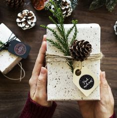 Weihnachtsaufkleber zum Geschenke verpacken