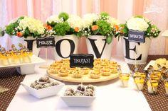 mesa_love Mousse, Baby Shower, Table Decorations, Furniture, Home Decor, Greek Wedding, Truffles, Mesas, Babyshower