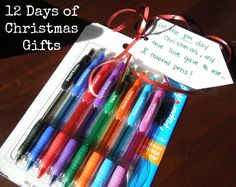 12 Days of Christmas Gifts - 12 Ideas of gifts to give a loved one the 12 days leading to Christmas