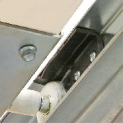 2100S door catcher for manual doors. Keep it out of the days-opening.