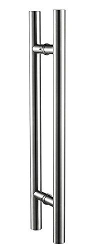 Togu 1200mm / 48 inches Push-Pull Stainless-Steel Door Handle for Entrance/Entry/Shower/Glass/Shop/Store, Interior/Exterior Barn & Gates - Satin Brushed Finish