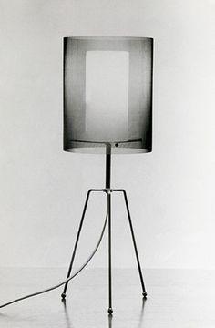 Tapio Wirkkala - Light fitting, 1957 - Opal glass diffuser, shade: fine metal gauze. Finland.