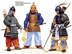 Early Samurai: Jinshin no Ran (The Jinshin war) 672 A D.