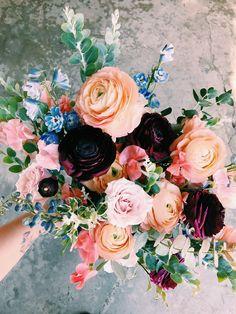 Spring wedding flowers! #moody #spring
