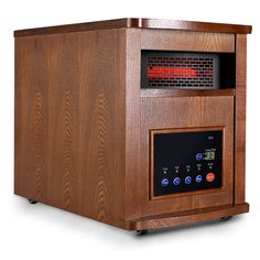 Pro 6 Element 1500W Infrared Quartz Heater Large Room w/ Remote Control New