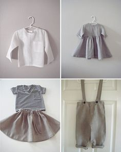 neutrals and linens for kids