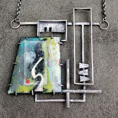 Enamel #4   by L. Sue Szabo