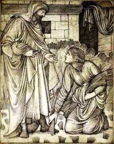 Ruth meets Boaz - Edward Burne-Jones