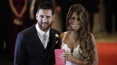 Messi diò el si a Antonella en Rosario
