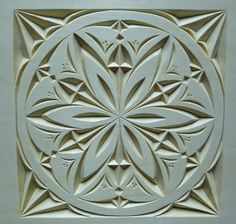 Wood Carving Patterns | Chip Carvers Will Never Know About How To Really Chip Carve...""