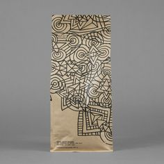 Coffee packaging with hand drawn illustrative detail for Single Origin Roasters designed by Maud.