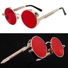 Apparel Accessories Colorful Round Sunglasses For Girls Purple Pink Mirror Sunglasses Half Frame Sunglasses Driving Titanium Alloy Frame Sunglasses Top Watermelons