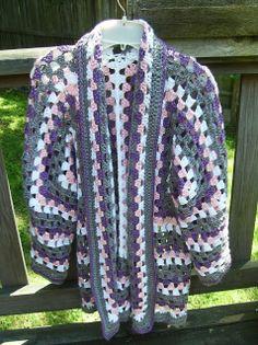 Orange Creamsicle Hooded Cardigan | Cardigan pattern, Crochet ...