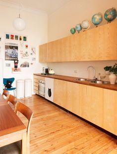 Ons appartement: de keuken / www.woonblog.be
