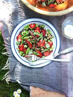 Maple-Tossed Beluga Lentil Salad
