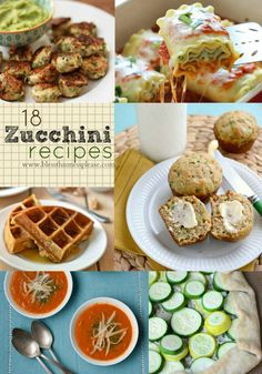 18 Zucchini Recipes