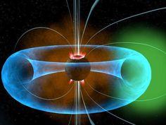 Earth Torus. Toroidal field. Electromagnetic field.