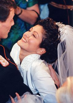 "♔ Royal Wedding Tiaras ♔ ""Alexandra, Countess of Frederiksborg (Princess Alexandra of Denmark): The Alexandrine Diamond Drop Tiara """