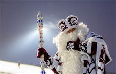 Merry (Western) Christmas from Siberia (where Santa is not always red!)