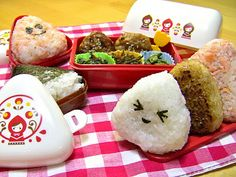 super cute and yummy onigiri !!!
