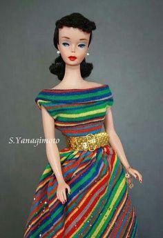 A beautiful No. 4 Barbie