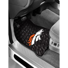 Denver Broncos Floor Mats - Set of 2