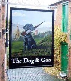 pub sign dog - Bing Images