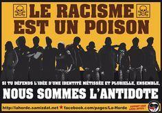 Le racisme est un poison