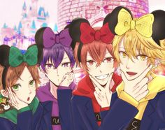 here comes the Micky mouse friends All Anime, Anime Guys, Pretty Boys, Cute Boys, Fanart, Friend Anime, Go Outside, Vocaloid, Manhwa