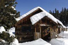Log cabin at Dunton Hot Springs Lodge, Colo. - Hoberman Collection/UIG via Getty Images