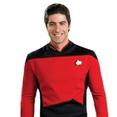 Star Trek The Next Generation Command Uniform Red