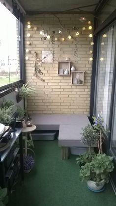 My balcony project