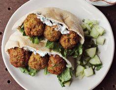 Γευστικοί ρεβιθοκεφτέδες (Falafel)