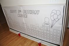 Lego 6th Birthday | CatchMyParty.com