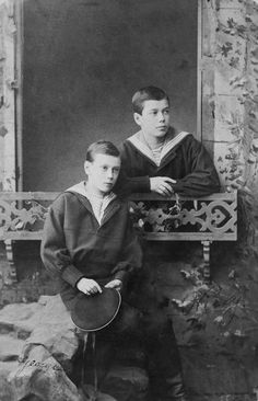 Tsarevitch Nicholas and Grand Duke George Alexandrovitch | Royal Collection Trust