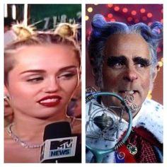 22 Things Miley Cyrus Looked Like At The 2013 VMAs