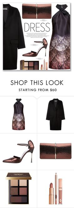 """""""till drop"""" by hannafdll ❤ liked on Polyvore featuring Ted Baker, Givenchy, Gucci, Nina Ricci, Bobbi Brown Cosmetics, Dolce Vita and partydress"""