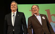 Video: George W Bush takes a swipe at Donald Trump at campaign ...