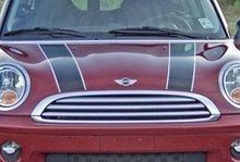 Bonnet stripe -Interieursticker, autostickers of geboortesticker kopen?   Stickyshop #autostickers #autostriping #bonnetstripes